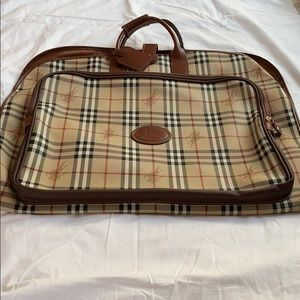 Burberry garment bag, authentic